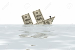 4305016-On-the-image-there-is-ship-from-money-It-is-sinking--Stock-Photo